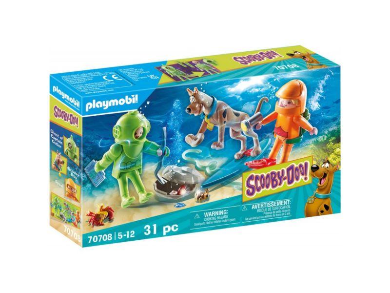 Playmobil 70708 Scooby-Doo! Avontuur Met Ghost  Diver