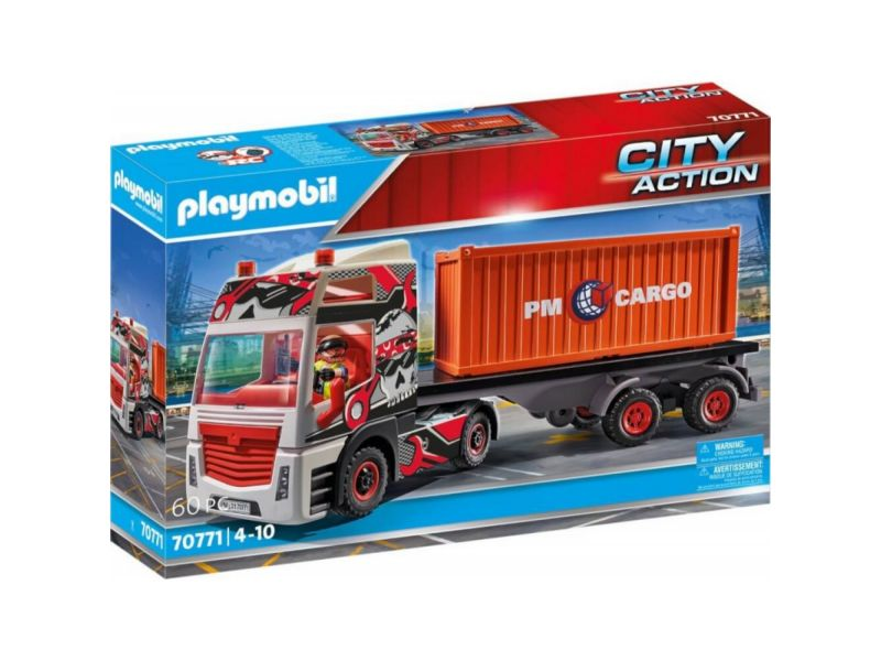 Playmobil 70771 Truck Met Aanhanger