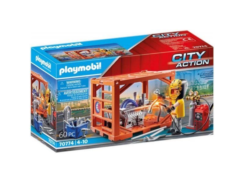 Playmobil 70774 Container Productie