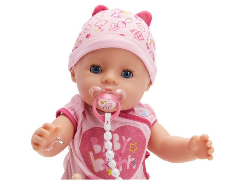 Baby Born Pop Soft Touch Girl (Blue Eyes) 43 Cm