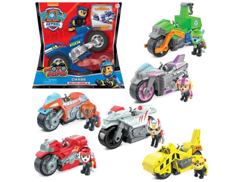 PAW Patrol  Moto themed Vehicles Assorti