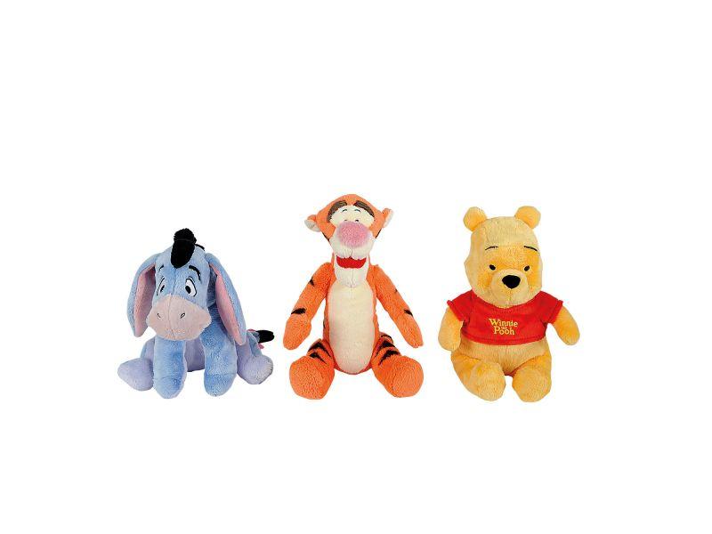 Pooh Winnie Teigetje Of Iejoor 25 Cm 3 Assorti