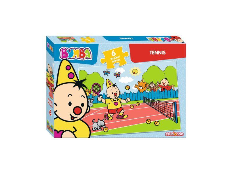 Bumba Puzzel 6 Stuks Tennis