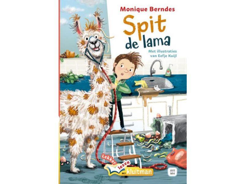 Boek Spit De Lama (AVI M4)