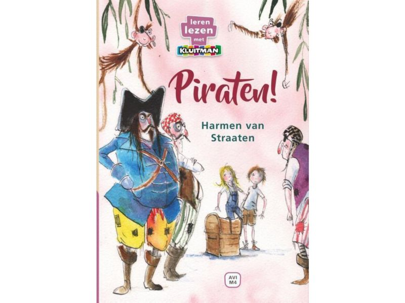 Boek Avi M4 Piraten!