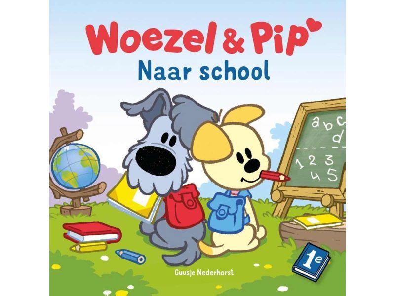 Boek Woezel En Pip Naar School