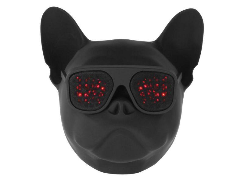 Wonky Monkey Speaker Bulldog Zwart