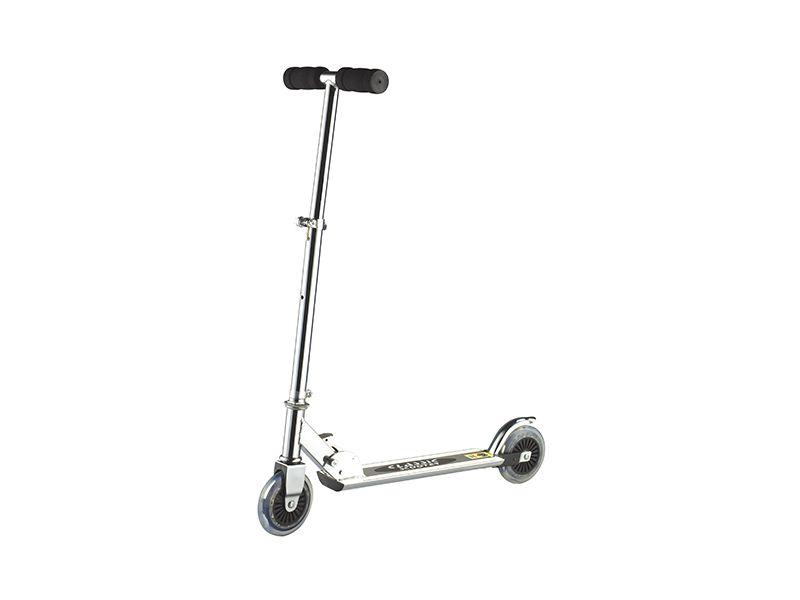 Step Scooter Aluminium Black