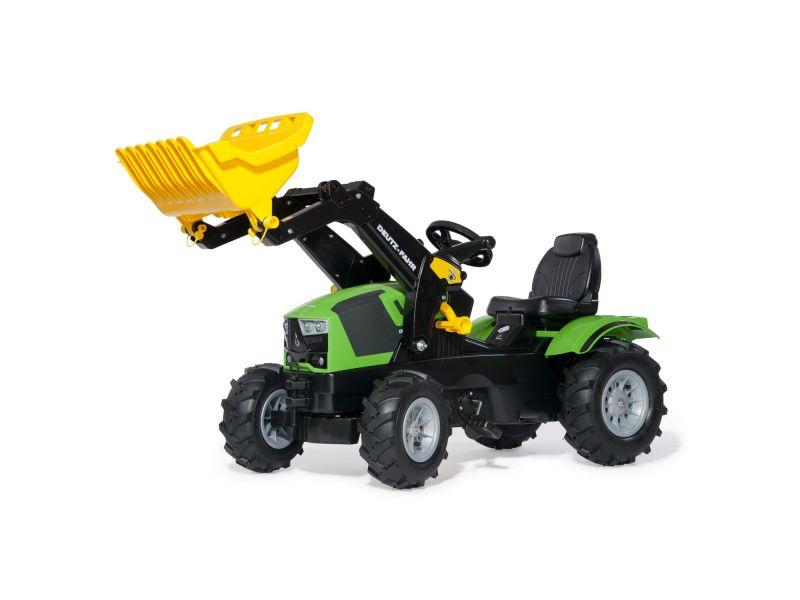 Rolly Toys Traptractor Deutz met Frontlader