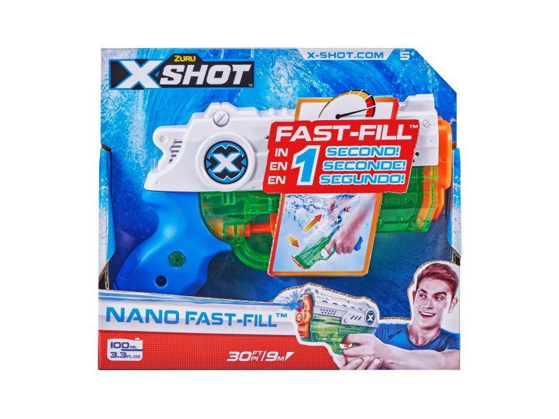 Waterpistool X-Shot Fast Fill Nano Zuru
