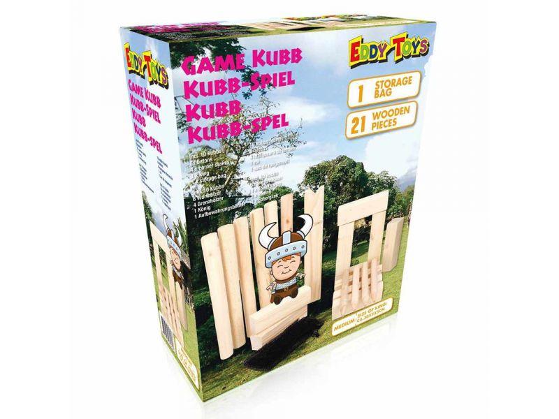 Kubb Spel 21 Delig 30 Cm