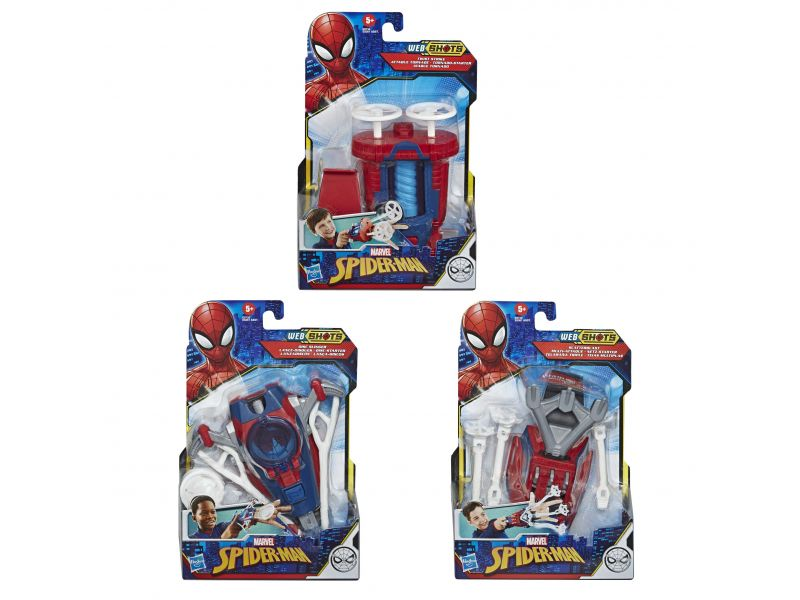 Spider-Man Web Shots Gear