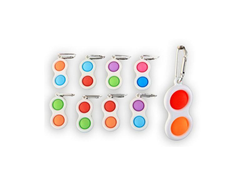 Magic Fidget Pop It Sleutelhanger Assorti