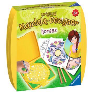 Mandala Designer Mini Paarden