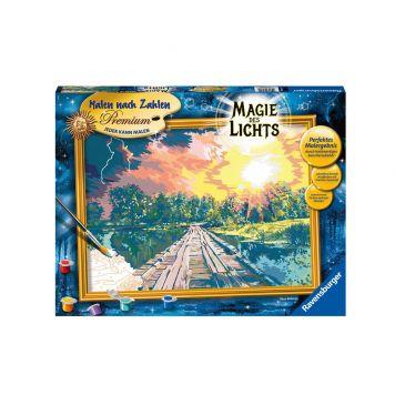 Schilder Op Nummer Magie Van Het Licht