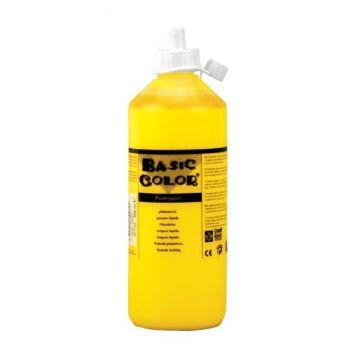 Plakkaatverf Geel 500 ml