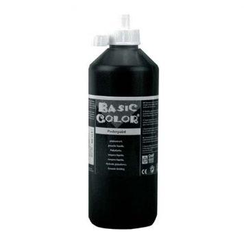 Plakkaatverf Zwart 500 ml