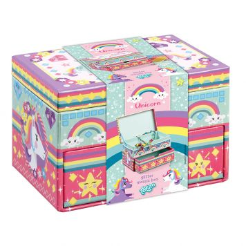 Unicorn Glitter Mozaiek Box
