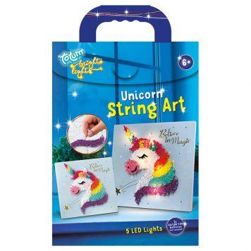 Bright Lights String Art Unicorn