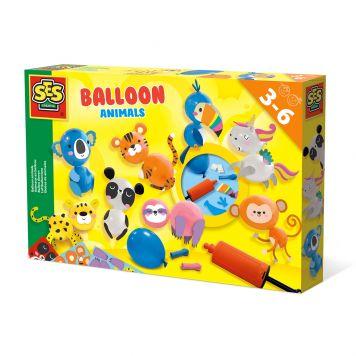 SES Ik Leer Ballon Dieren
