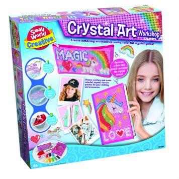 Hobbydoos Crystal Art Workshop Etui + Dagboek