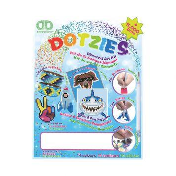 Dotzies Diamond Art Kit Blauw