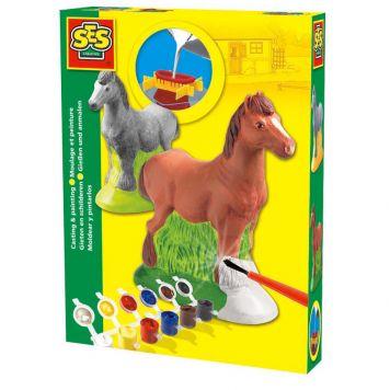 Ses Gips Gieten Paard