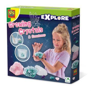 SES Explore Groeiende Kristallen En Edelstenen