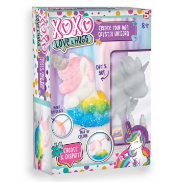 XOXO Groeiend Kristal Unicorn