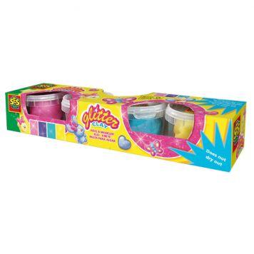Ses Dough Glitter 4x90 Gram