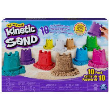 Kinetic Sand Castle 10 Pack