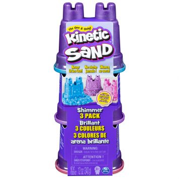 Kinetic Sand Shimmers 3 Pack