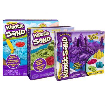 Zand Kinetic Sand Box Set Assorti
