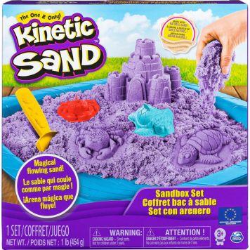 Kinetic Sand Box Set Purple 454 gr