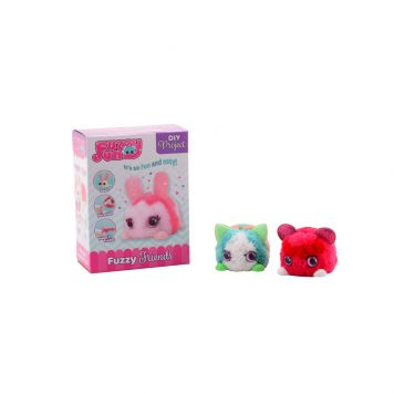 Fuzzy Fun Dieren 4 Assorti Medium