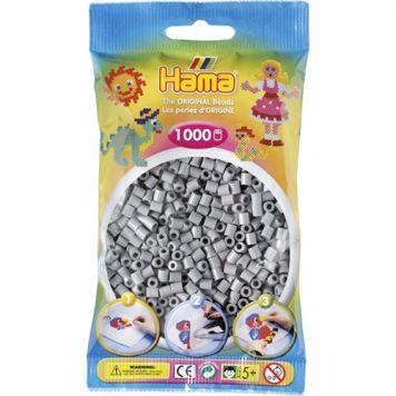 Hama Strijkkralen 1000 Stuks Grijs