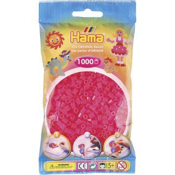 Strijkkralen Hama 1000 Stuks Fuchsia