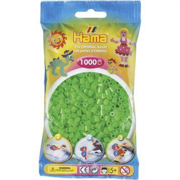 Strijkkralen Hama 1000 Stuks Groen Fluor