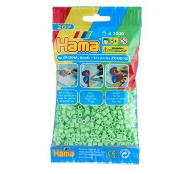 Strijkkralen Hama 1000 Stuks Groen Pastel