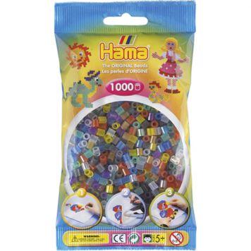 Strijkkralen Hama 1000 Stuks Doorzichtig Assorti