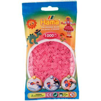 Strijkkralen 1000 Roze Transparant