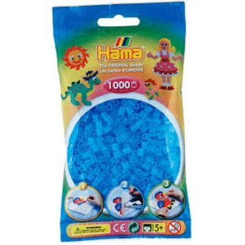 Strijkkralen 1000 Blauw Transparant