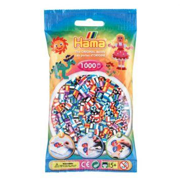 Hama Strijkkralen 1000 Stuks 2 Kleurig Gemixed