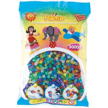 Strijkkralen Hama 3000 Stuks Glitter
