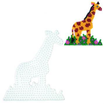 Strijkkralen Grondplaat Hama Giraffe Wit