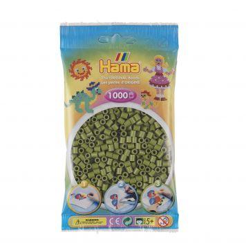 Strijkkralen 1000 Olijf Groen