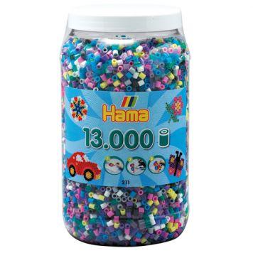 Strijkkralen 13000 Delig Assorti