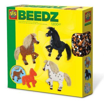 SES BEEDZ: Strijkkralen Paarden Met Manen