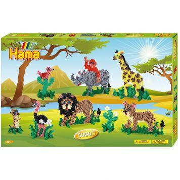 Strijkkralen Hama Safari 6000 Delig