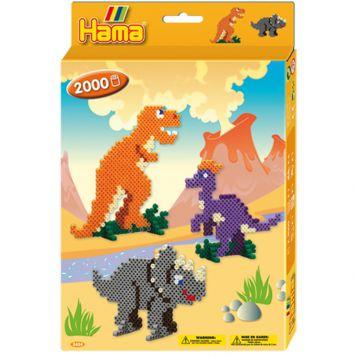 Hama Strijkkralen Dinosaurus 2000 Stuks